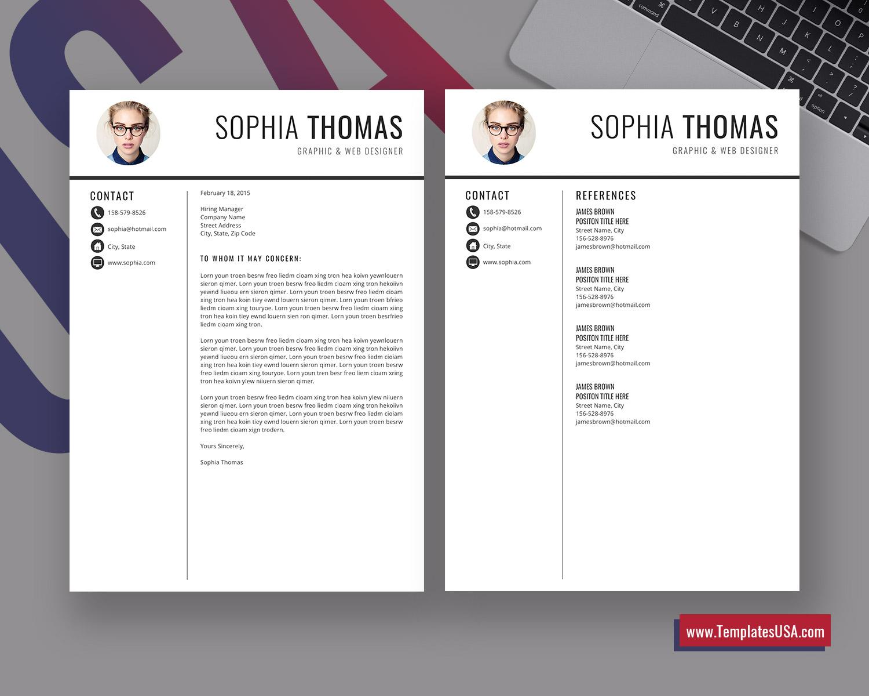 Professional Resume Template Simple Resume Format Minimalist